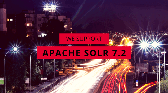 Support for Apache Solr 7.2